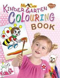 My Cute Kinder Garten Colouring Book