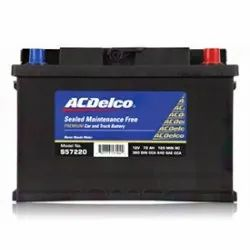Ac Delco Battery Warranty >> Acdelco Car Battery Warranty 48 Months Model Name Number