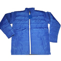 Blue Mens Quilted Jacket
