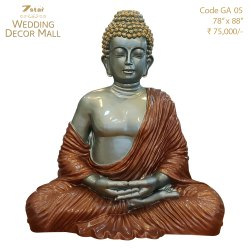 GA05 Fiberglass Buddha Sculpture