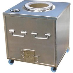Stainless Steel SS Gas Tandoor, Shape: Rectangular, For Hotel
