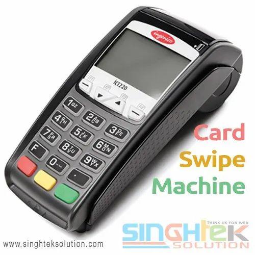 Ingenico Card Swipe Machine