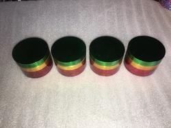 Rasta Color Smoking Grinders