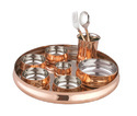 Copper Dinner Set
