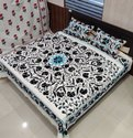 Embroidered Cotton  Bedsheet