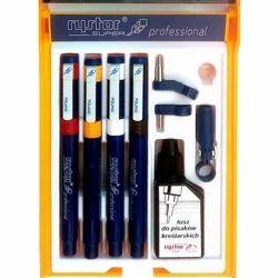 RYSTOR 4 Technical Pen Set