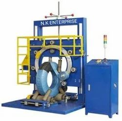 Vertical Tyre Wrapping Machine