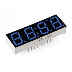 Blue Seven Segment Display