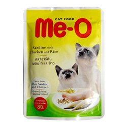 Sardine Chicken Rice Me-O Cat Food