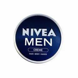 Face Cream Nivea Men Face Cold Cream, Paste, Packaging Type: Cream Jar