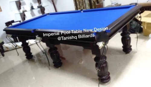 Tanishq Billiards Wooden Standard Pool Table Size 9 8 7 Model Number Tbpool0904 Rs 65000 Set Id 21000605548