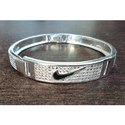 Fancy Gents Silver Bracelet