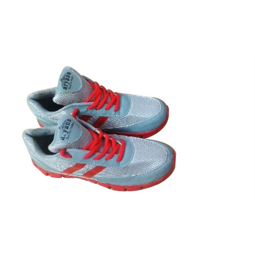 c4375cc968 Aryans Red And Gray Mens Running Shoes