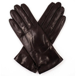 Brown Leather Safety Gloves