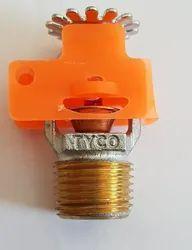68 Degree Brass Tyco Fire Sprinklers, Bulb Size: 5MM