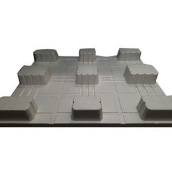 White EPS Thermocol Pallet, Size/dimension: 1200x800x150mm