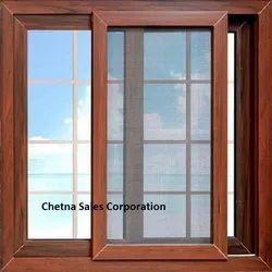 Color Coated Designer Wooden Window