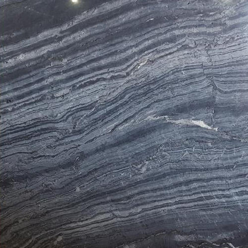 Dark Grey Silver Wave Imported Marble, Thickness: 16-18mm, Application Area: Flooring