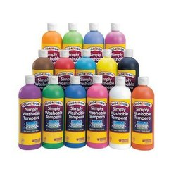 Water Soluble Colors Bottles
