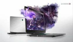 Silver  Alienware M17 Dell Laptop