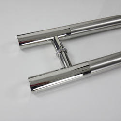 H Shape Glass Door Handle