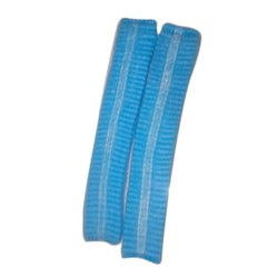 Non Woven Blue 2 Ply Disposable Bouffant Cap, for Surgical
