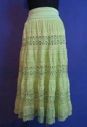 Cotton Ladies Skirts