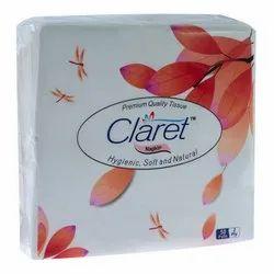 40 x 40 mm Claret Tissue