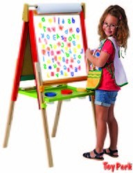 3.5FT. WOODEN EASEL BOARD (ET 217)