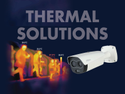 Thermal Camera For Temperature Checking Measurement And Display With Alarm