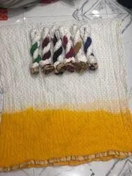 Cotton Pan Lase Double Dye Dupatta