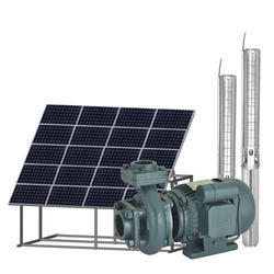 Solar Submersible AC Motor Pump