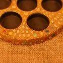 Lakh Designed Tealight Candle Holder For Diwali