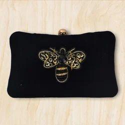 Velvet Clutch Bag