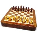 Drawer Wooden Magnetic Chess Set