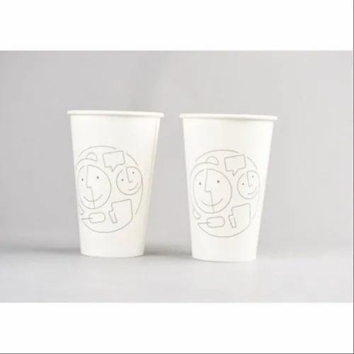 White Disposable Paper Cup, Packet Size: 100 Pieces
