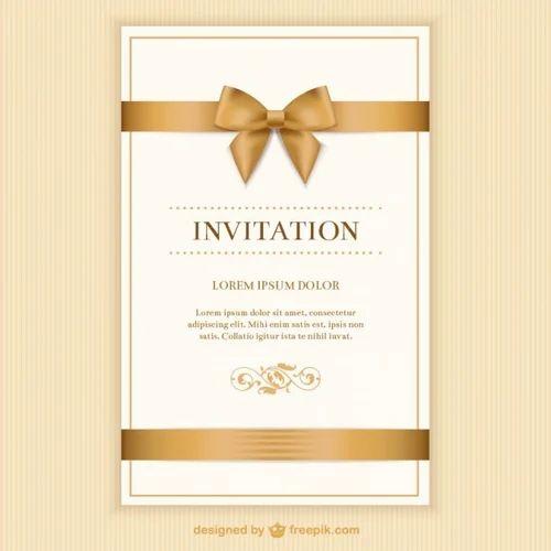 Invitation card at rs 30 piece kodambakkam chennai id invitation card stopboris Choice Image