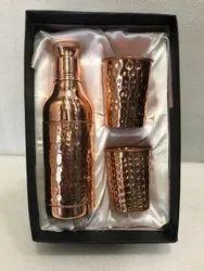 Rawsome Shack Copper Bottle Set Corporate Gift