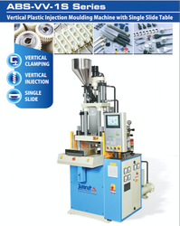 Single Sliding Vertical Injection Moulding Machine