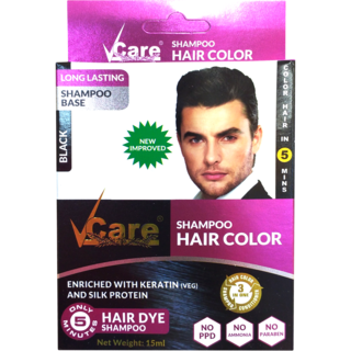 Vcare Black Hair Color Usage Personal Parlour Rs 990 Number Id 18046810412
