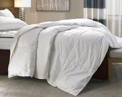 Plain White Double Bed Duvet