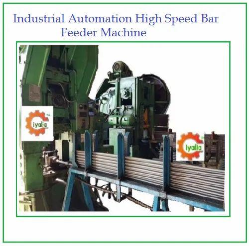 Industrial Automation High Speed Bar Feeder Machine