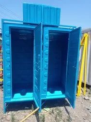 FRP Labour Toilet with Water Tank