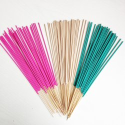 Colored Plain Incense Stick