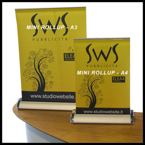 523c99e19a74c8 Mini Rollup at Rs 550 /piece | Roll Up Banner Stand | ID: 14237742848