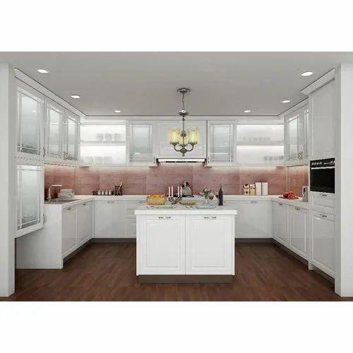 Pu (paint Finish) Modular Kitchen