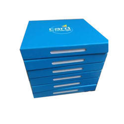 Blue Paper Gift Box