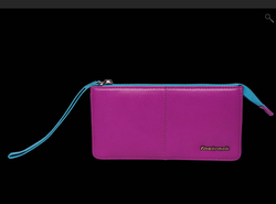 Fastrack Women Leather Pink Wallet