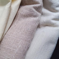 Herbal Fab Plain Non Violent Silk Fabric, For Apparel, GSM: 80 - 120