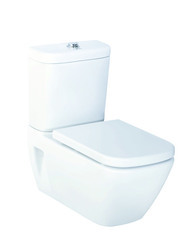 Parryware Ceramic wall hung with dual flush cistern verve